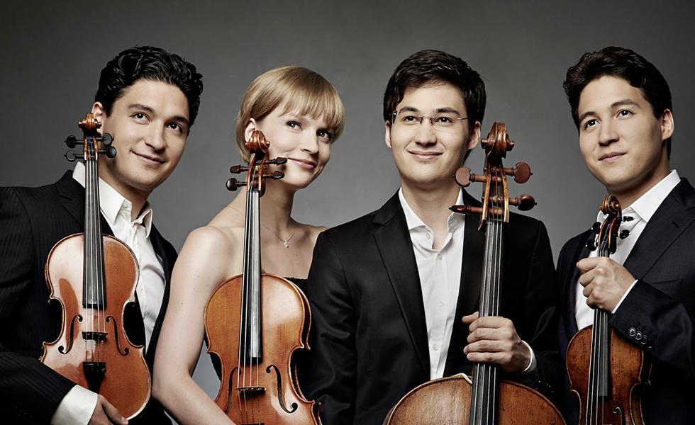 Jürgen Ponto-Stiftung Schuman Quartet